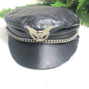 Leather hat in good condition